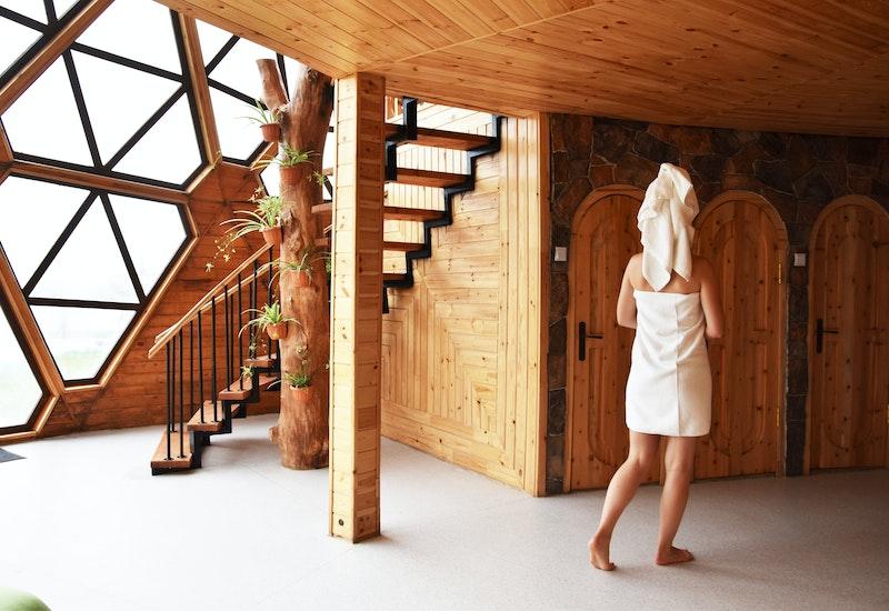 Dome-sauna