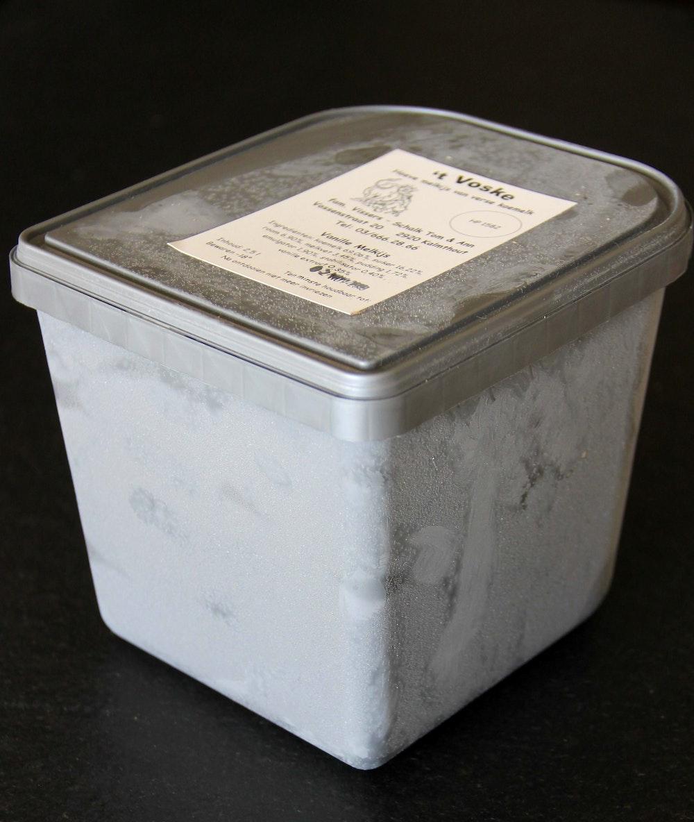 vanille 2,5 liter